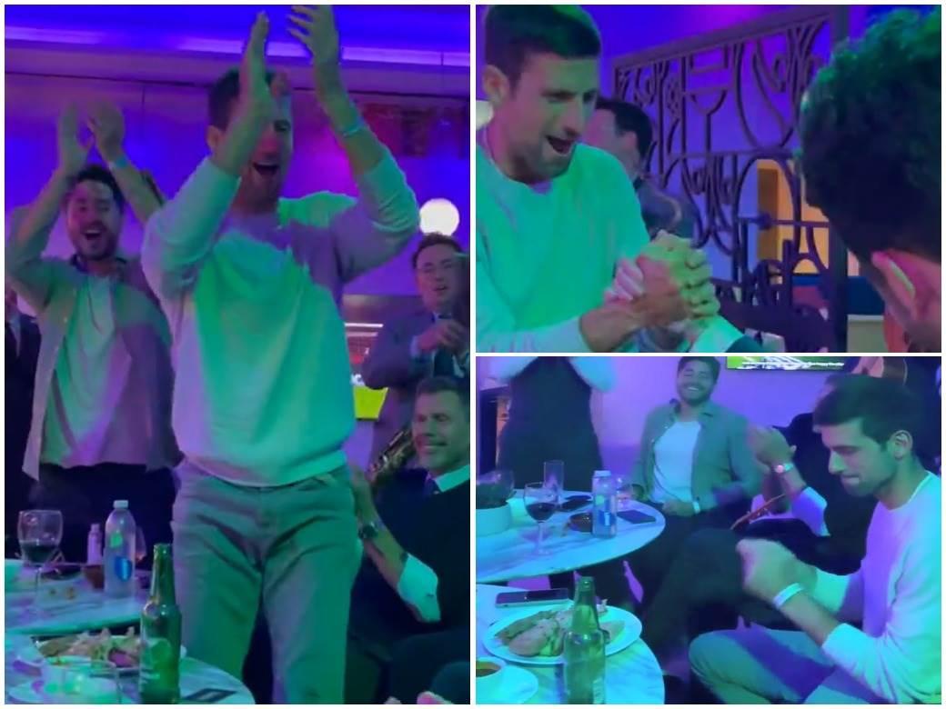 Novak slavlje Vembli