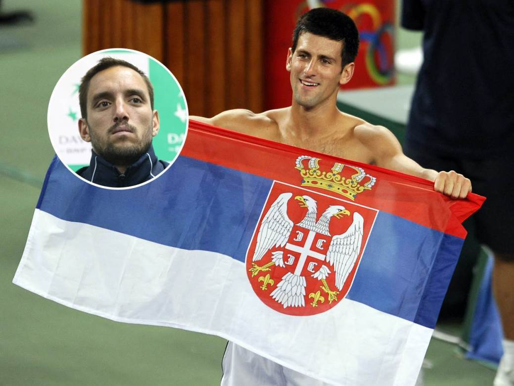 Novak Đoković Viktor Troicki