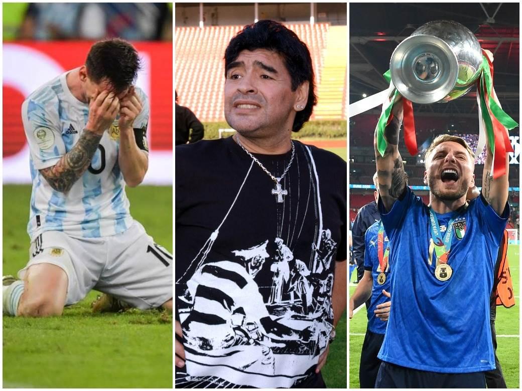 Mesi Maradona Imobile