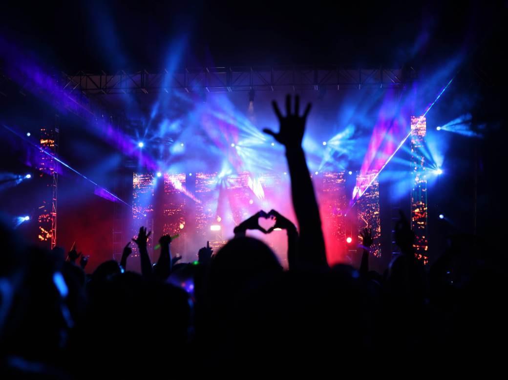 koncert, žurka