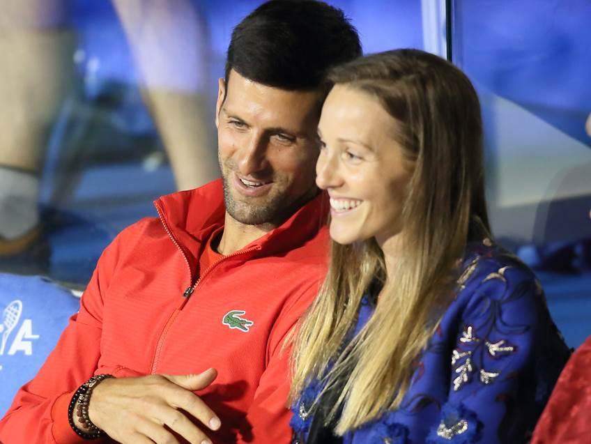 Novak Đoković Jelena Đoković