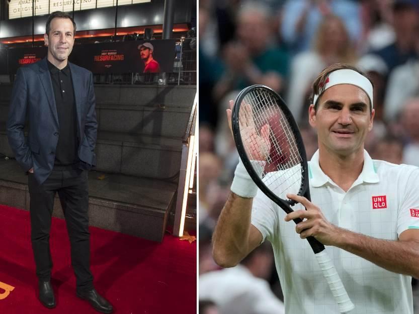 Greg Rusedski i Rodžer Federer