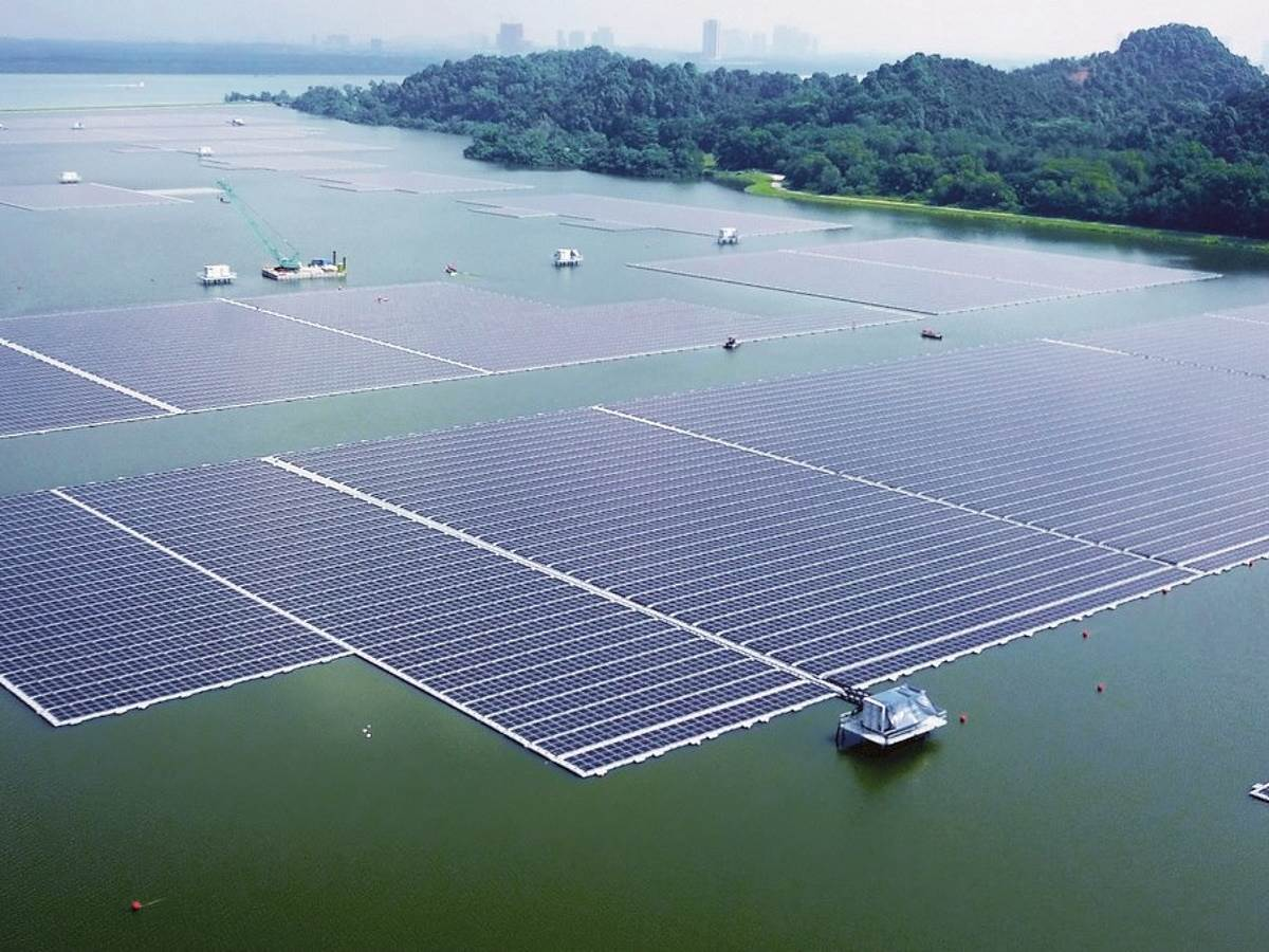Solarna elektrana voda Singapur 1