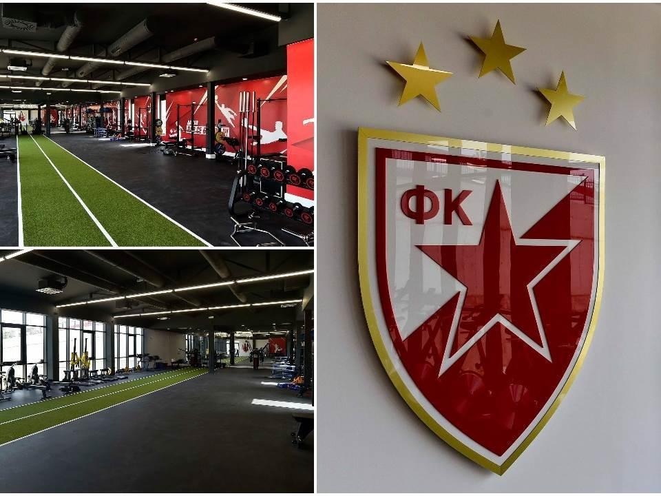 FK Crvena zvezda - teretana