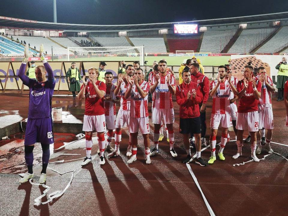 Fudbaleri Crvene zvezde.