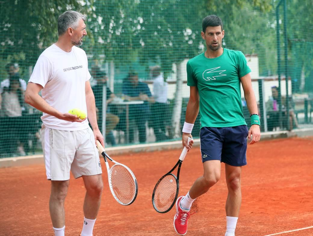 Goran Ivanisevic i Novak Djokovic