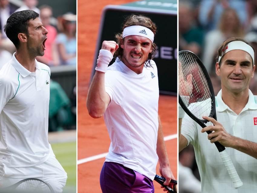 Đoković, Cicipas i Federer