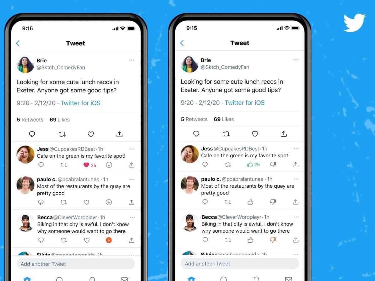 Twitter lajk i anti-lajk