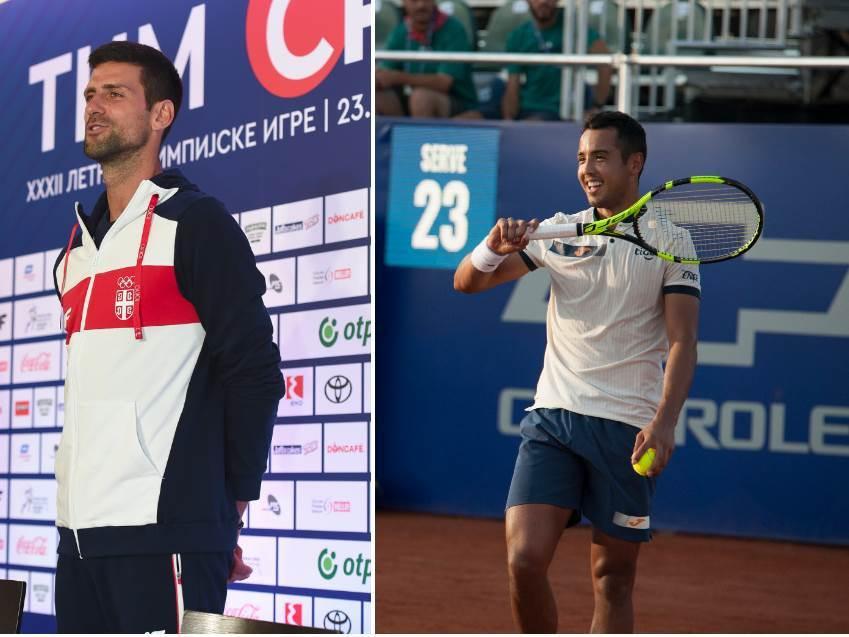 Novak Đoković i Ugo Dalijen