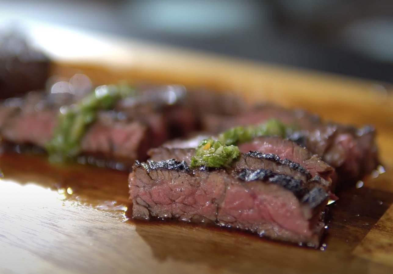 pečena govedina na dasci