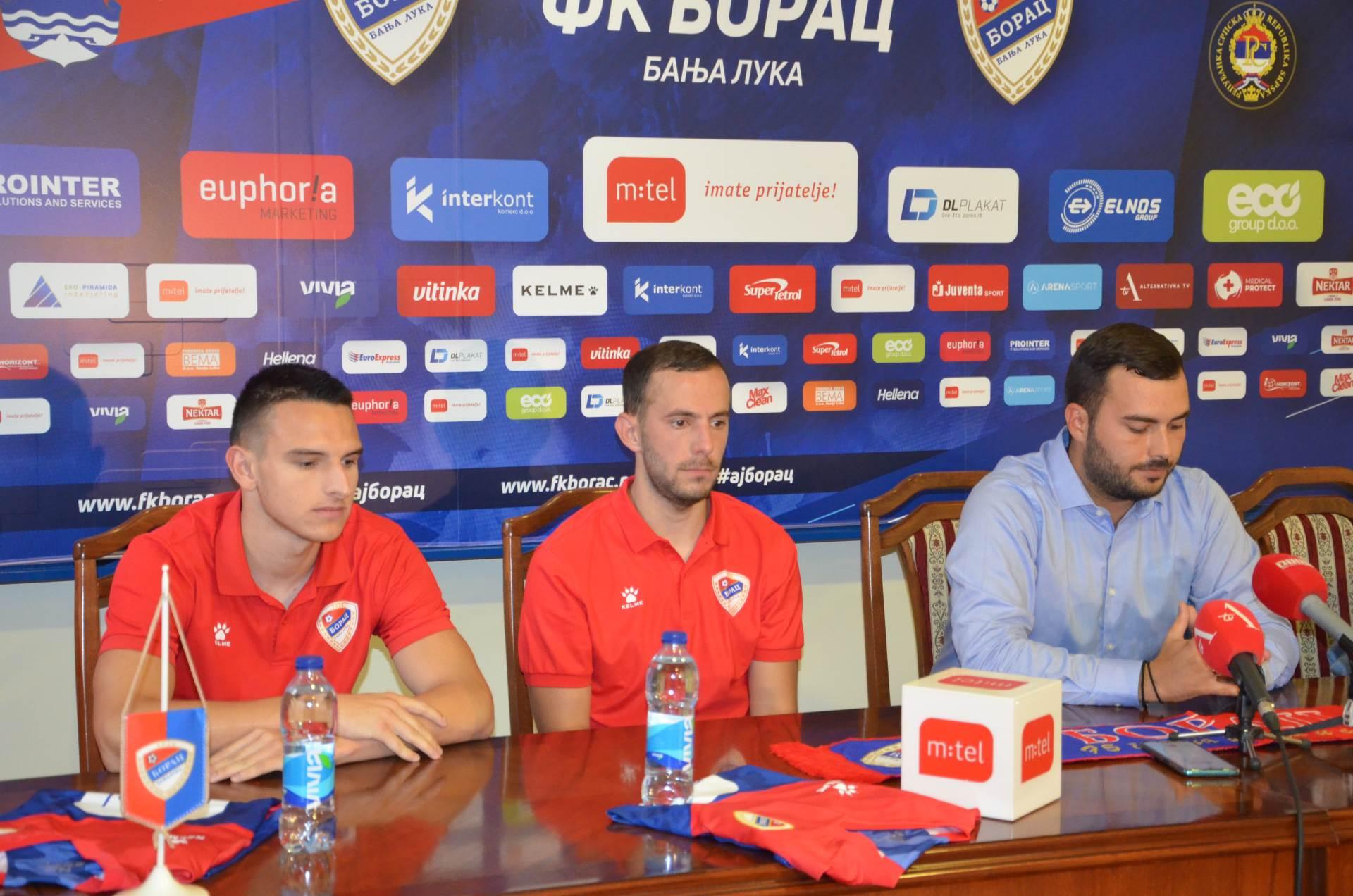 borac, fk borac, nemanja vukmanović, nikola dujaković