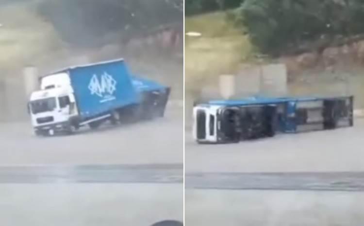 nevrijeme kamion