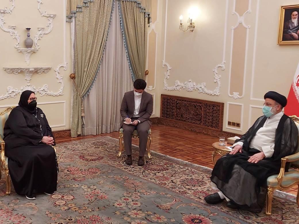 Turkovićeva kod iranskog predsjednika.