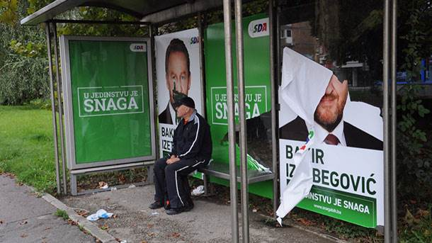 plakati, izbori, Sarajevo