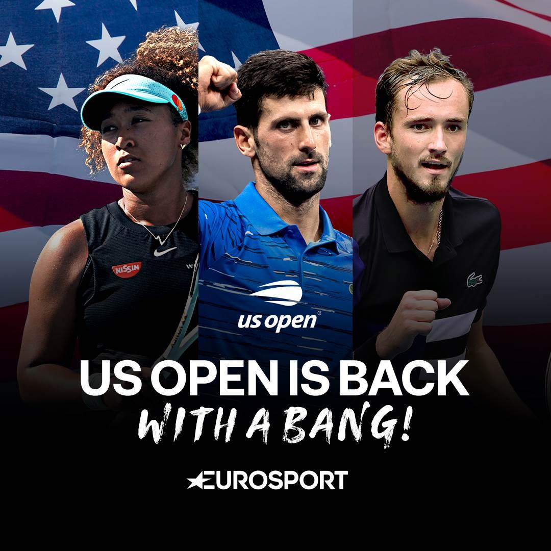 US Open 2021 Eurosport