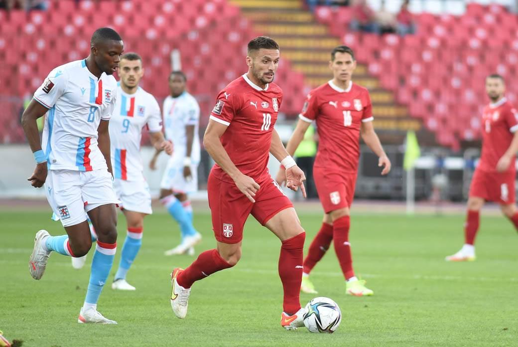 srbija luksemburg fudbal