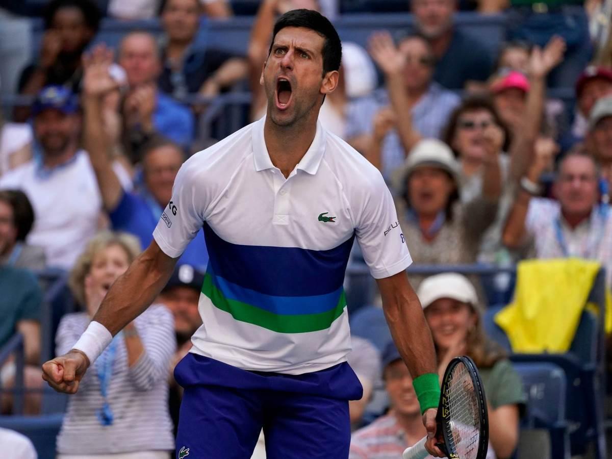 Srpski teniser Novak Đoković na US Openu.