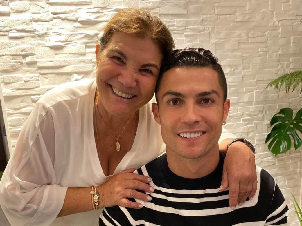 ronaldo sa majkom