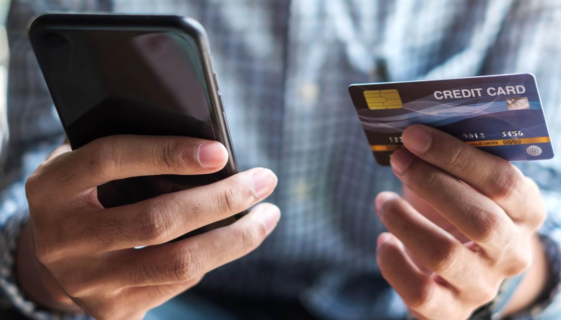 eshopping, kupovina, mobilni, trgovina, kartica, kreditna kartica