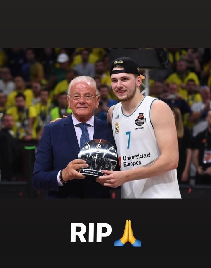 Luka Dončić o Dudi