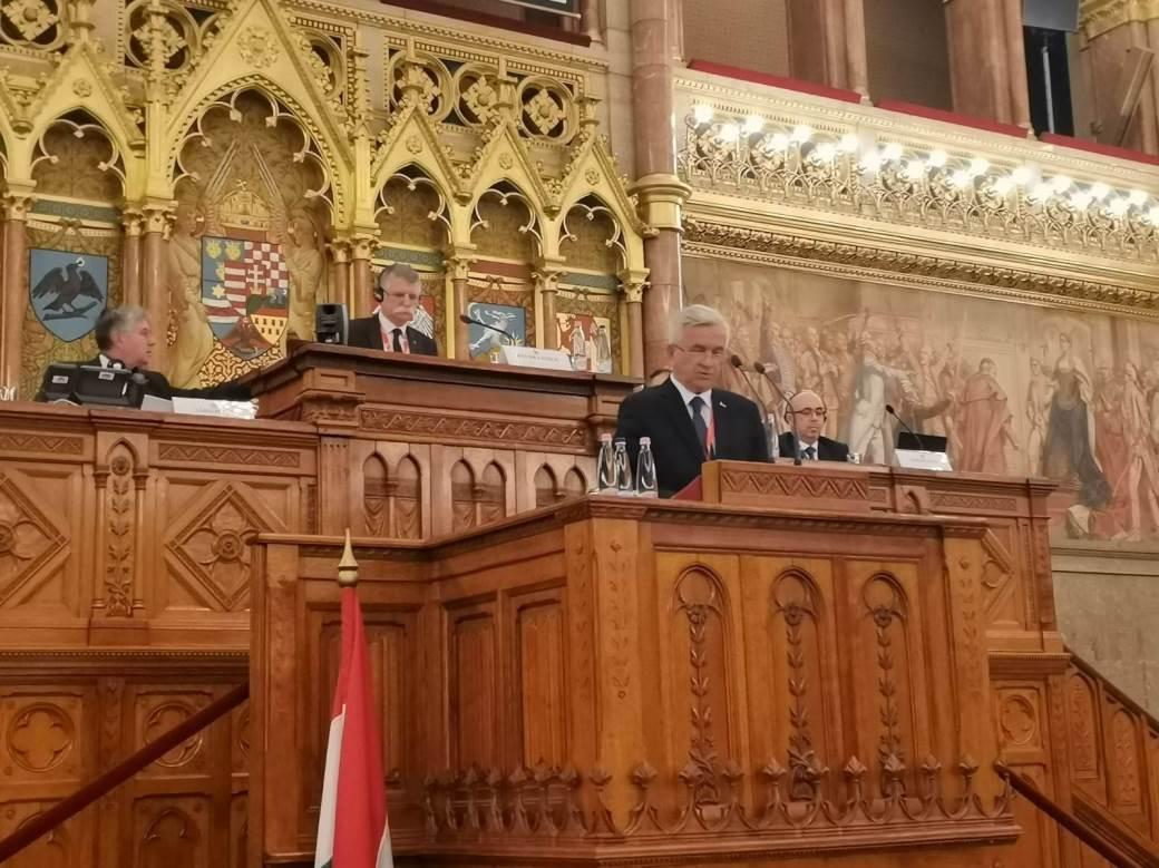 Nedeljko Čubrilović u Budimpešti