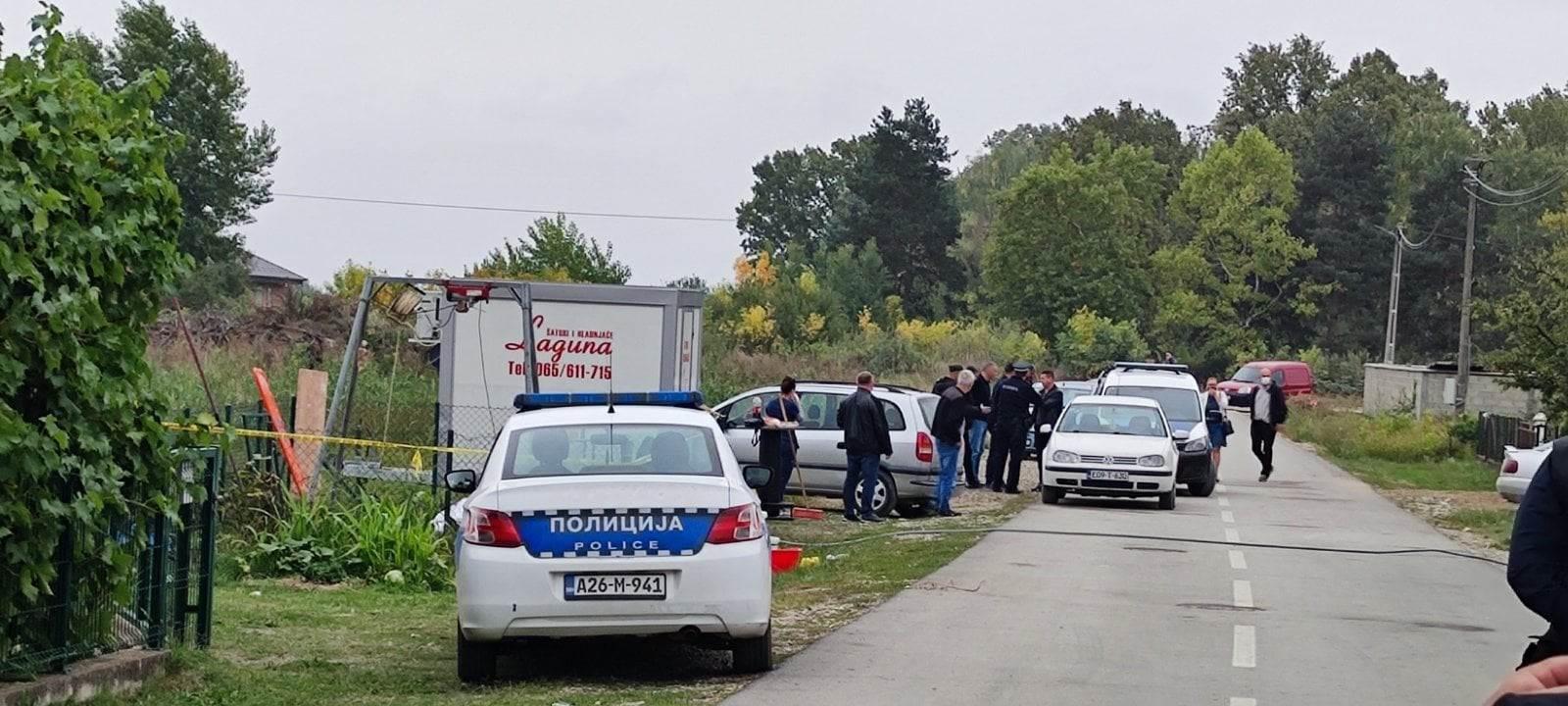 Policija na mjestu pogibije u Modriči