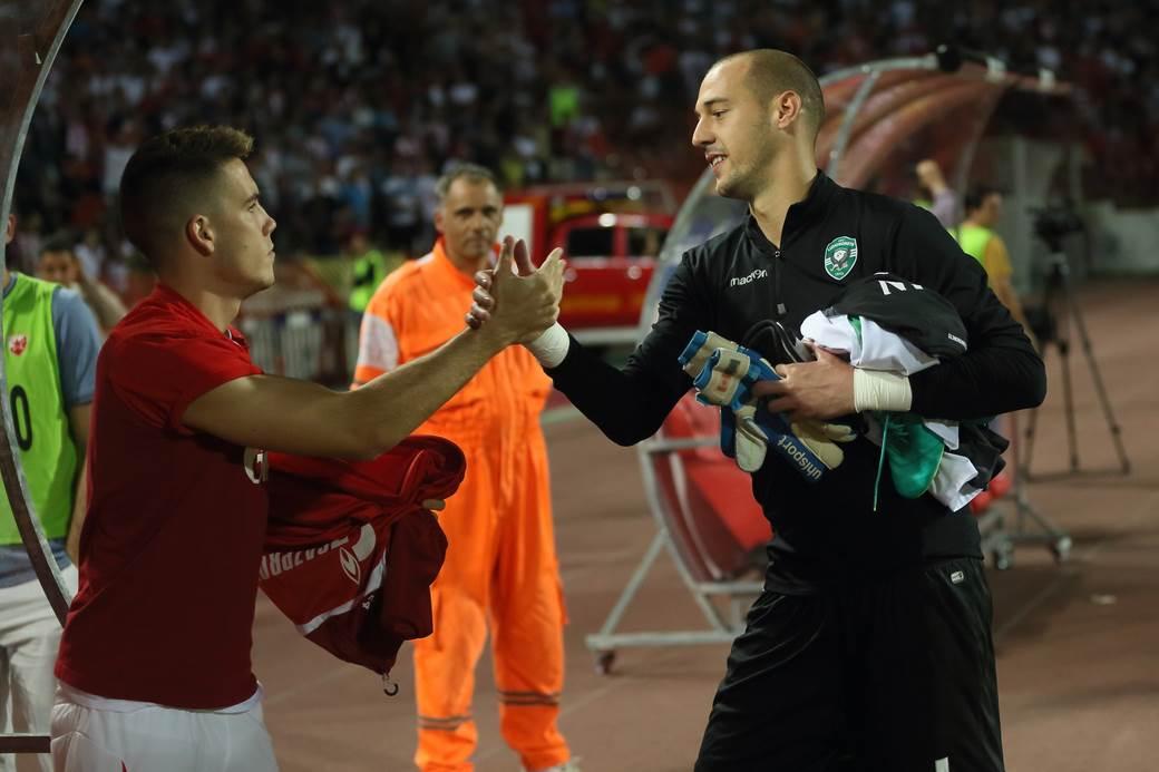 Milan Borjan i Mihailo Ristić.