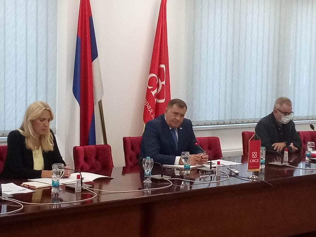Dodik, Cvijanović i Mitrović