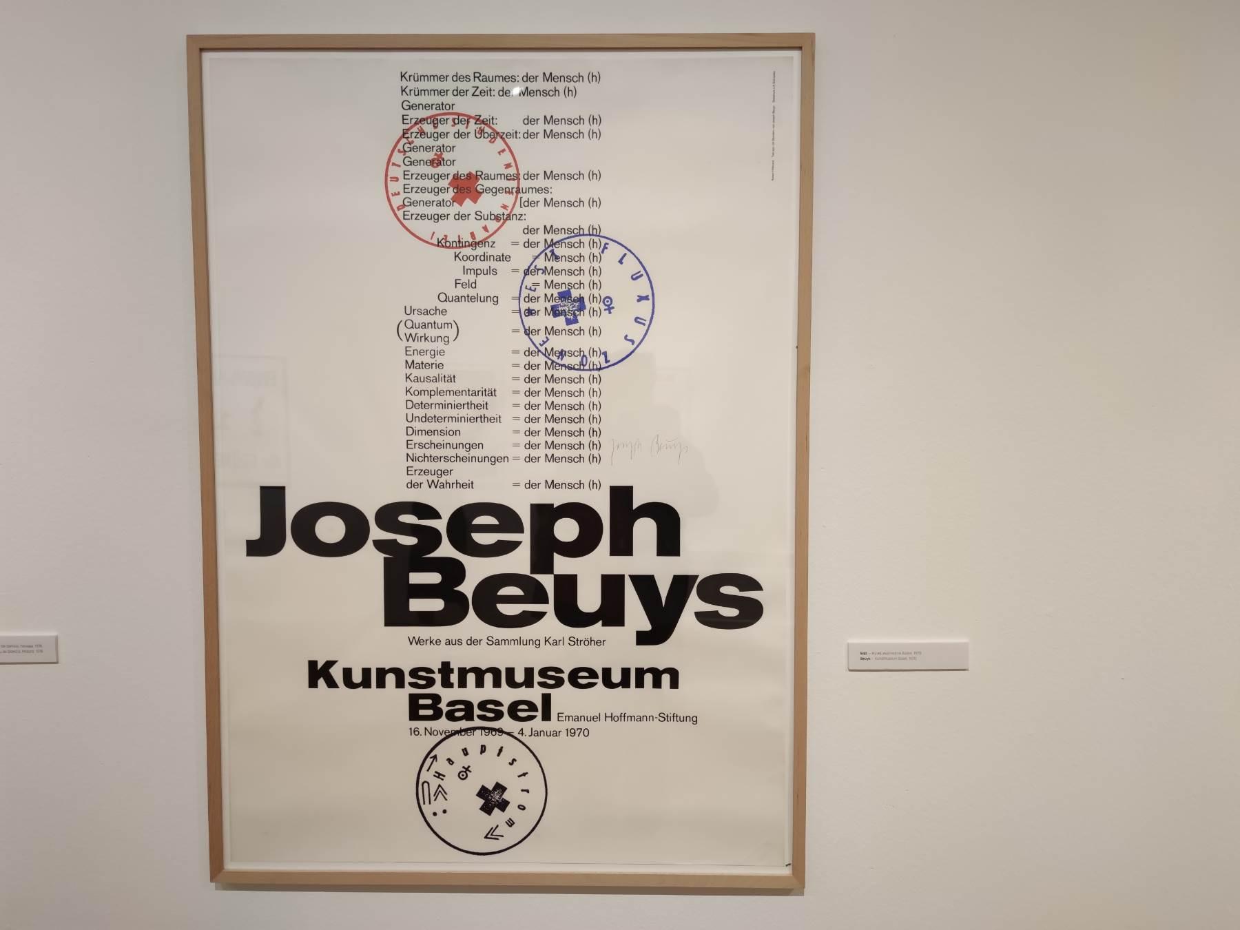 izložba, MSURS, Jozef Bojs i Mangelos