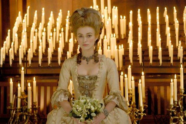 RELEASE DATE: September 12, 2008. MOVIE TITLE: The Duchess or Georgiana, The Duchess of Devonshire. STUDIO: Paramount Vantage. PLOT: A chronicle of the life of 18th century aristocrat Georgiana, Duchess of Devonshire, who reviled for her extravagant political and personal lives. PICTURED: KEIRA KNIGHTLEY as Georgiana, The Duchess of Devonshire.,Image: 94273961, License: Rights-managed, Restrictions: , Model Release: no, Credit line: Paramount Vantage / Entertainment Pictures / Profimedia