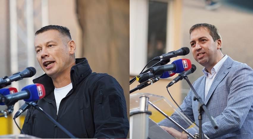 Nenad Nešić (DNS) i Goran Selak (SPS)