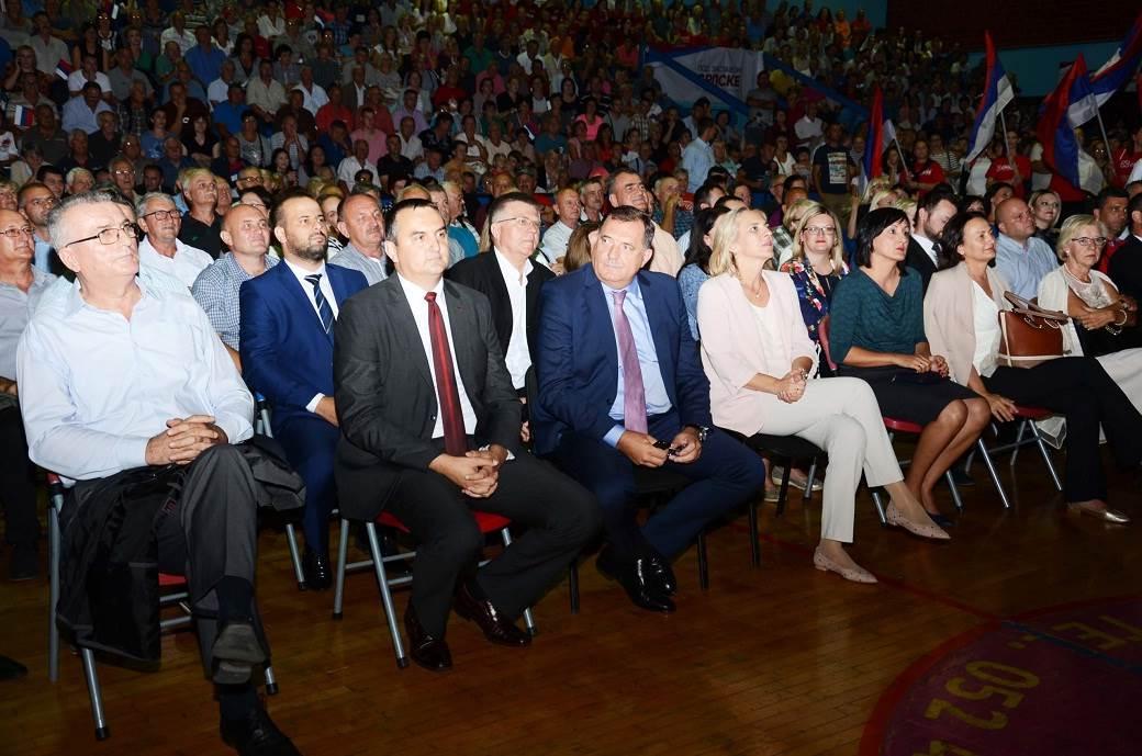 Dalibor Pavlović i rukovodostvo SNSD