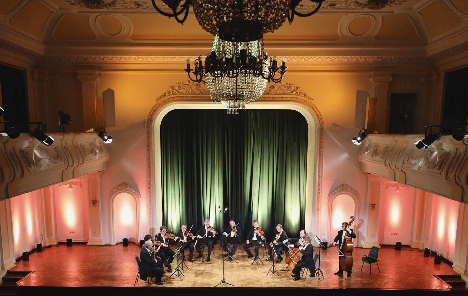 zagrebački solisti, banski dvor