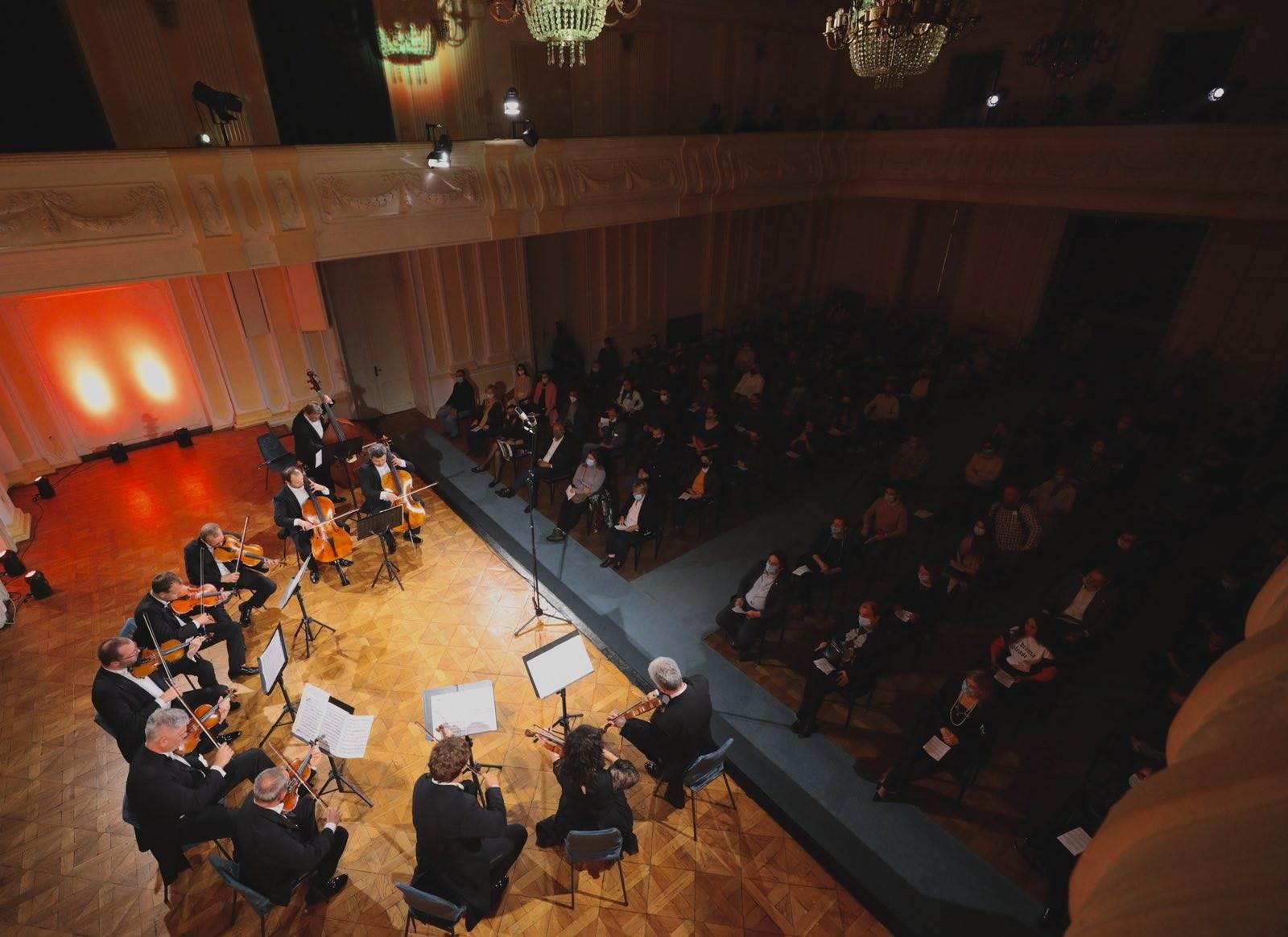 banski dvor, zagrebački solisti