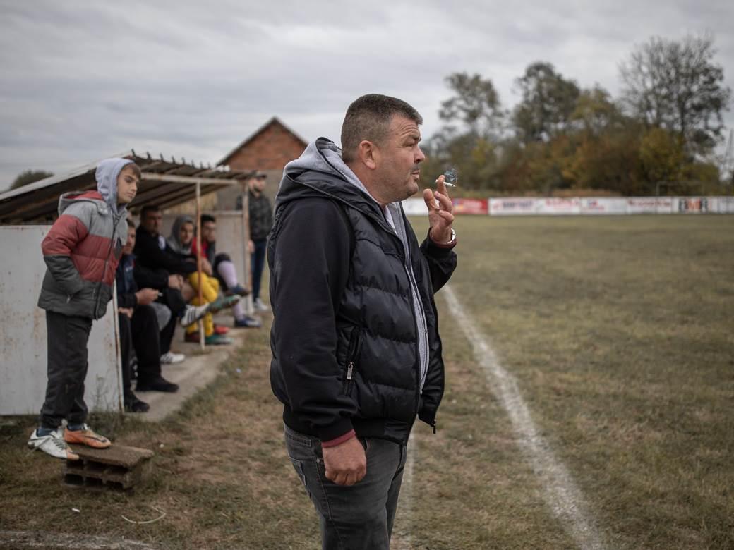 Trener Dobrave Vladimir Đurđević