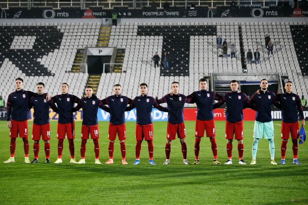 Mlada reprezentacija Srbije.