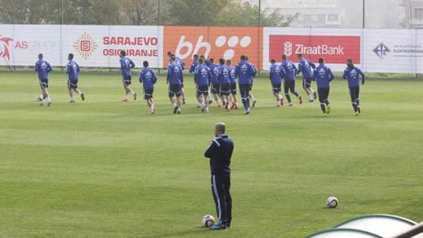 Zmajevi, trening, Zenica