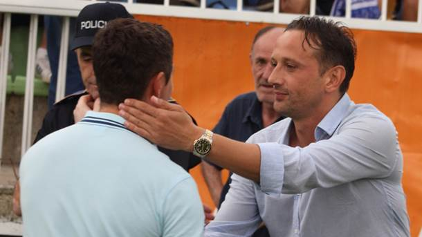 Mirza Varešanović Varesanovic trener FK Olimpic Olimpik Sarajevo