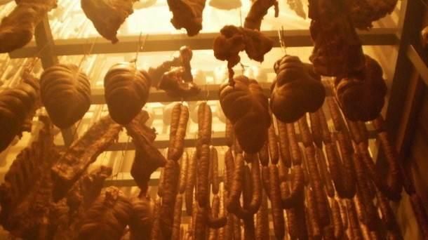 meso, pušnica, šunka