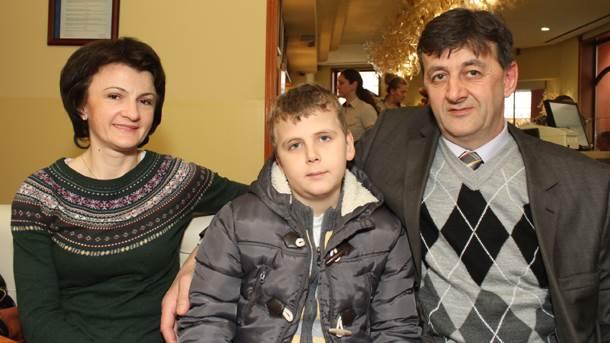 Dijana, Luka, Milan Berić