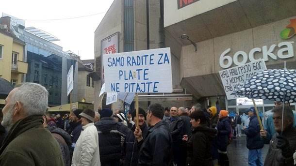 Kosmos, protesti