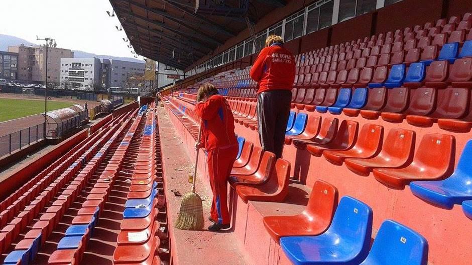 Gradski stadion Banjaluka, FK Borac