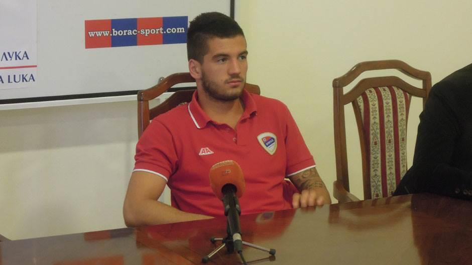 Toni Jović, FK Borac