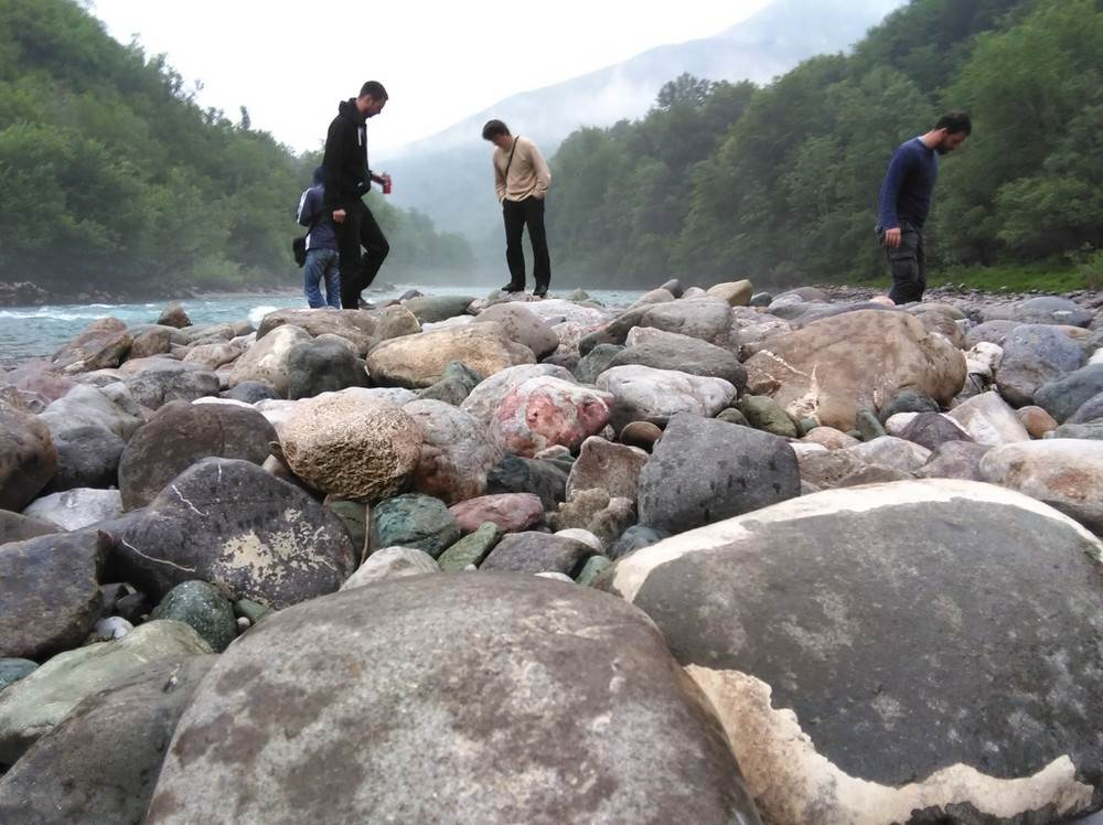 Drina, rijeka, kamen, kamenje