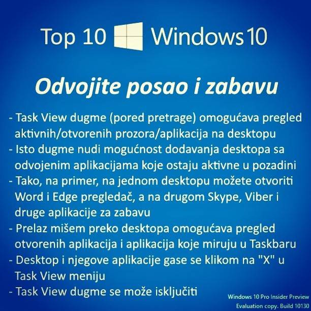 Imaš piratski i želiš Windows 10: Pročitaj!
