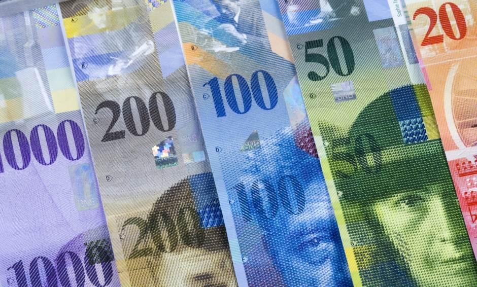 franak švajcarac švajcarska novac