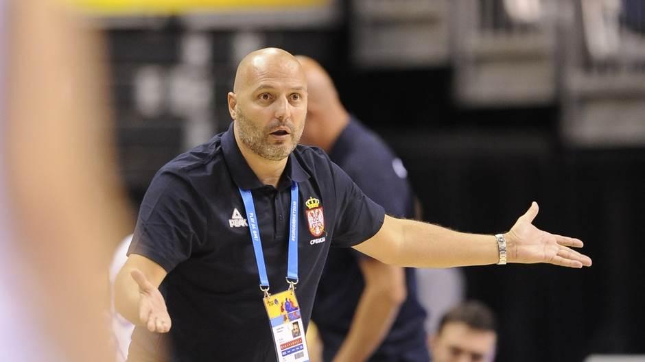 Aleksandar Đorđević Eurobasket, Aleksandar Djordjevic