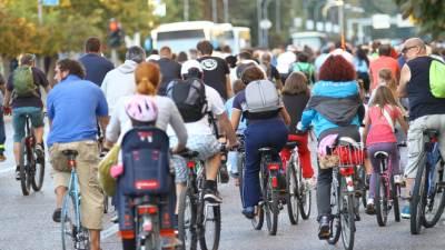biciklisti, bicikl