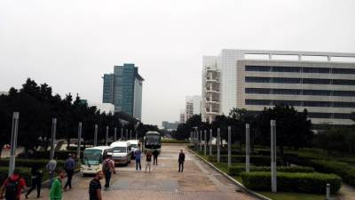 Huawei, R&D, Fabrika, Zgrada, Kina, Šangaj, Žen Šen, ŽenŠen, Huawei proizvodnja.