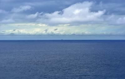 kruzer, posao, okean, more, horizont, nebo, voda,
